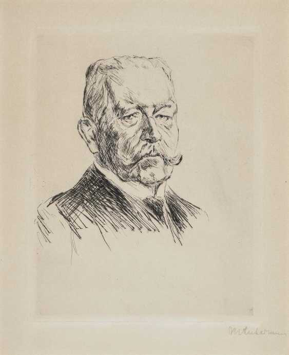 Liebermann, Max. Portrait of the Reich President von Hindenburg - photo 1