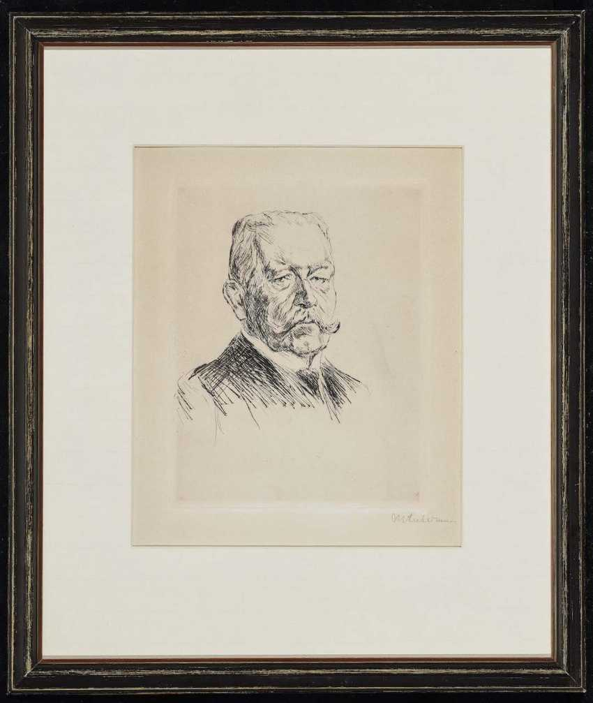 Liebermann, Max. Portrait of the Reich President von Hindenburg - photo 2