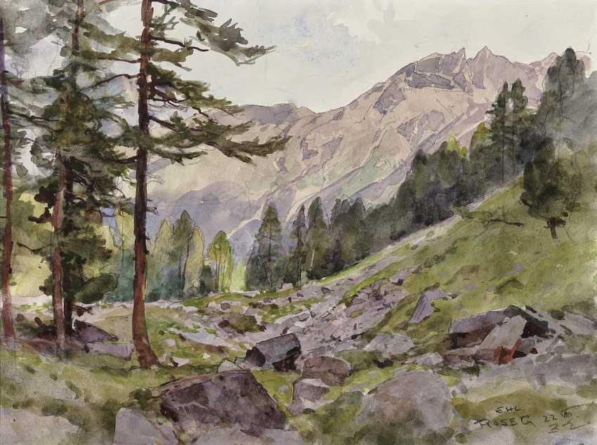 Compton, Edward Harrison. Mountain landscapes - photo 2