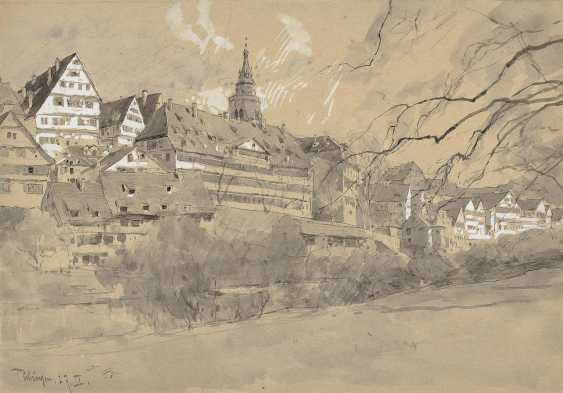 """Compton, Edward Harrison. Small Maple Floor """"Tübingen"""" - photo 2"""
