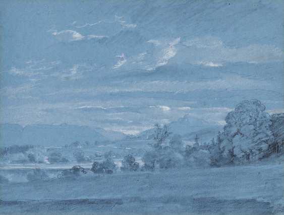 Dillis, Johann Georg von. Mountain landscape with Church - photo 1