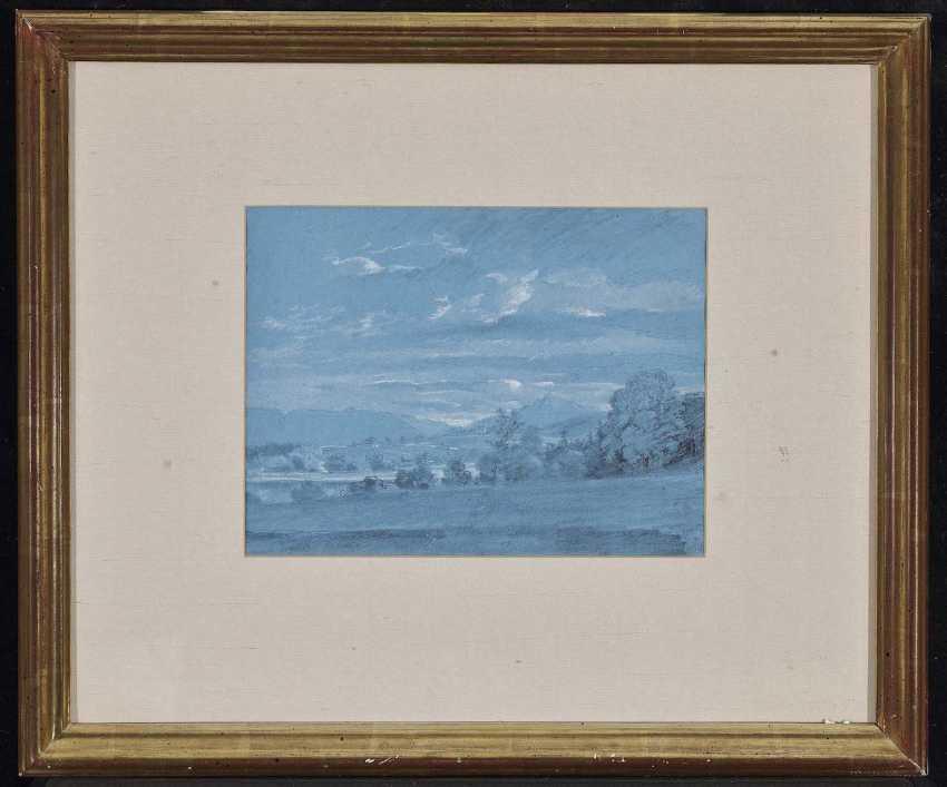 Dillis, Johann Georg von. Mountain landscape with Church - photo 2
