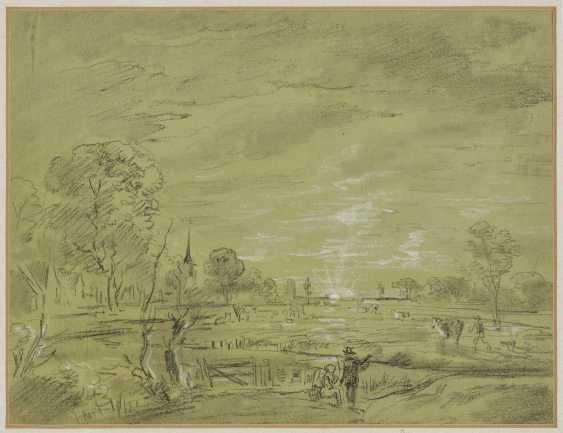 Dillis, Johann Georg von. Village landscape - photo 1