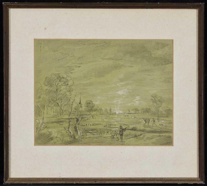 Dillis, Johann Georg von. Village landscape - photo 2