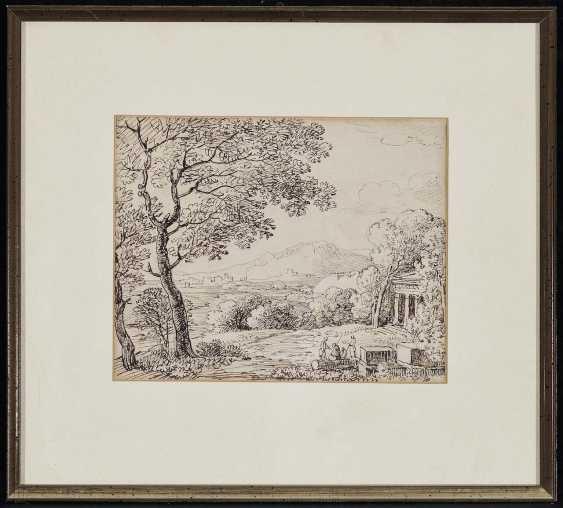 Dillis, Johann Georg von. Antique-like landscape with figure staffage - photo 2