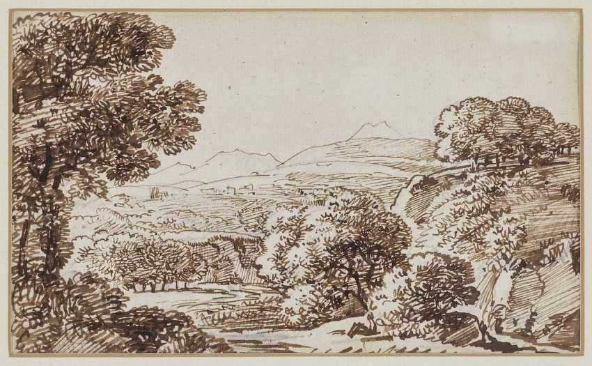 Kobell, Franz, attributed to. Southern Mountain Landscape - photo 1