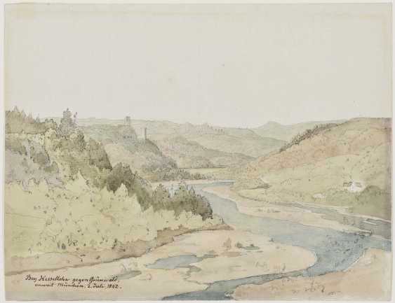 Scheuchzer, Wilhelm. In the valley of the river ISAR at grosshesselohe - photo 1