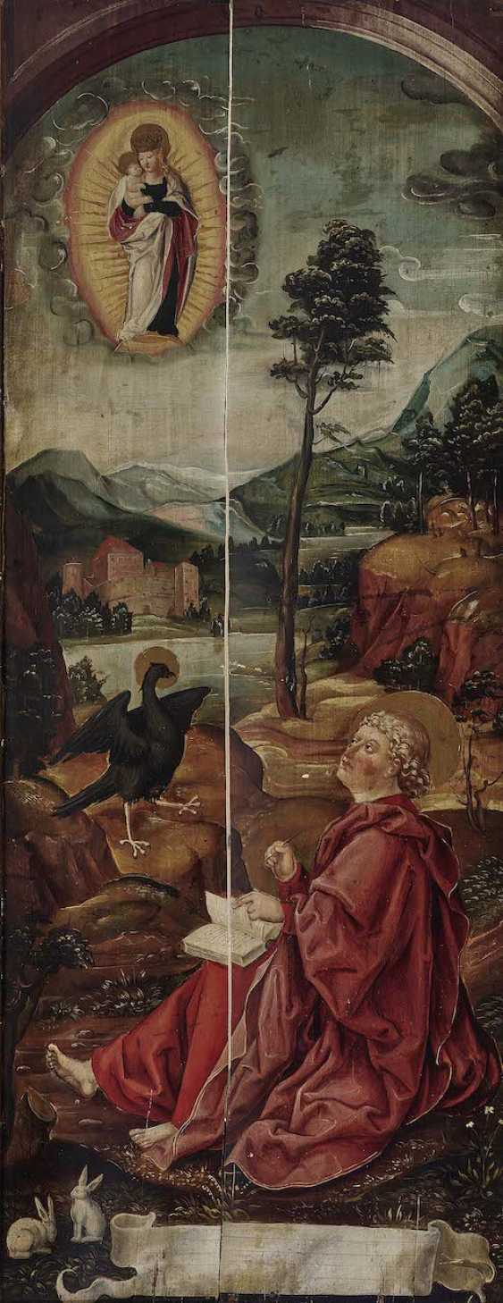 English to 1500. The Hl. John on Patmos - photo 1
