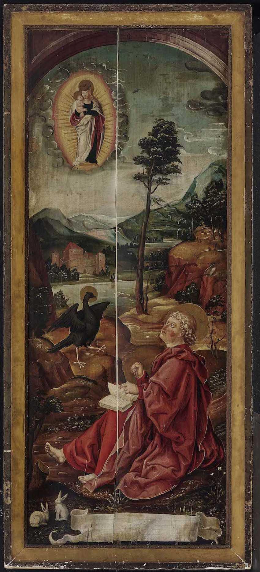 English to 1500. The Hl. John on Patmos - photo 2