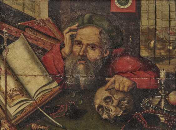 Cleve, Joos van, the successor. The Hl. St. Jerome in the study - photo 1