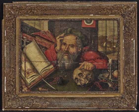 Cleve, Joos van, the successor. The Hl. St. Jerome in the study - photo 2