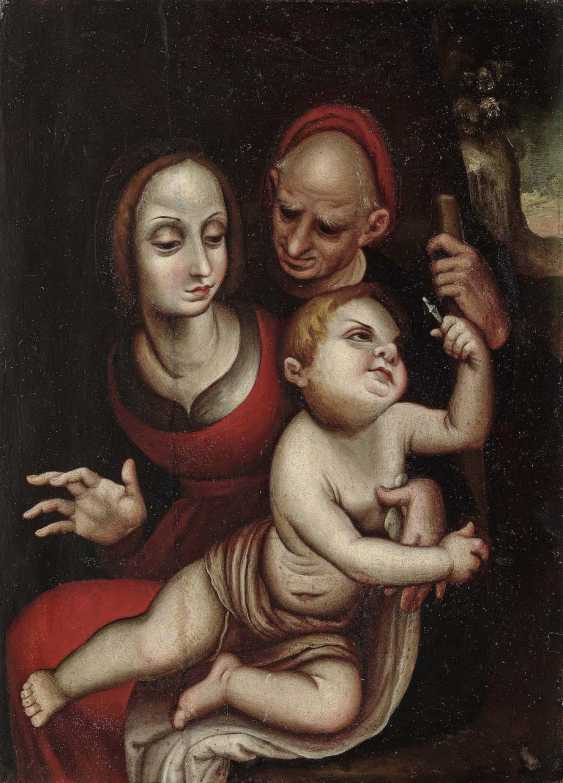 Spain in the style of the early 17th century. Century founder . Holy Family - photo 1