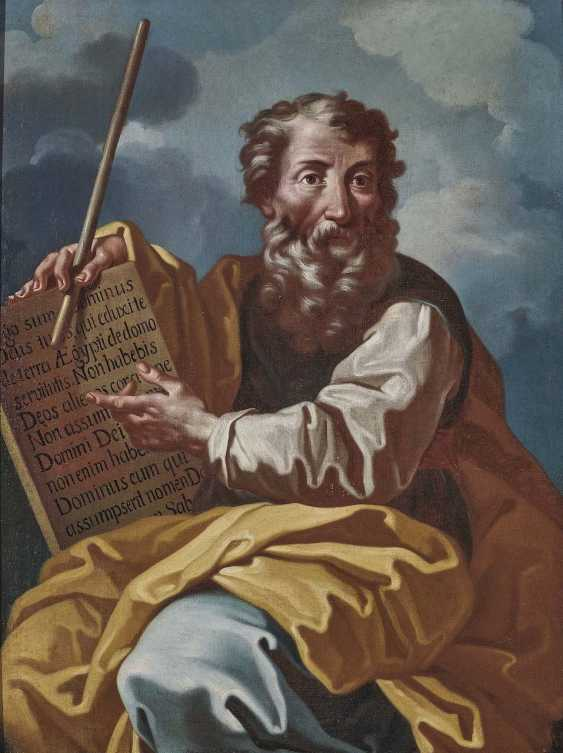 Italy (?), 17. Century. Moses with the tablets of law - photo 1