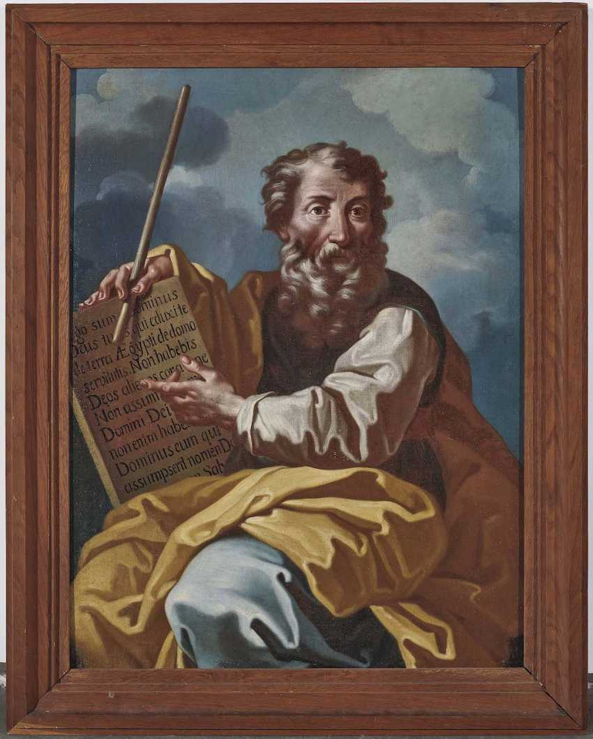 Italy (?), 17. Century. Moses with the tablets of law - photo 2