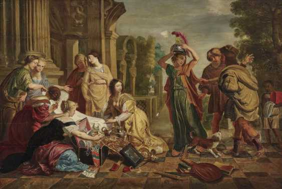 Holsteyn, Cornelis. Achilles among the daughters of Lykomedes - photo 1