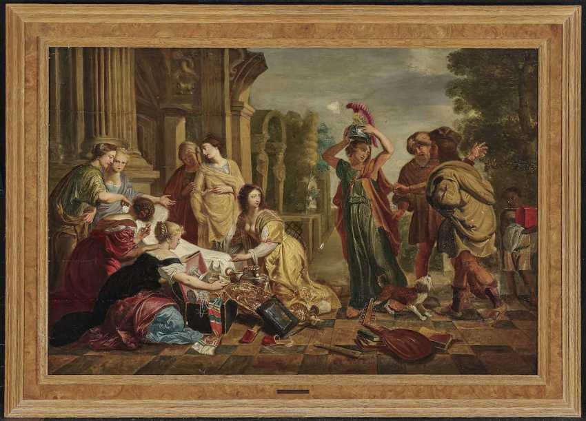Holsteyn, Cornelis. Achilles among the daughters of Lykomedes - photo 2