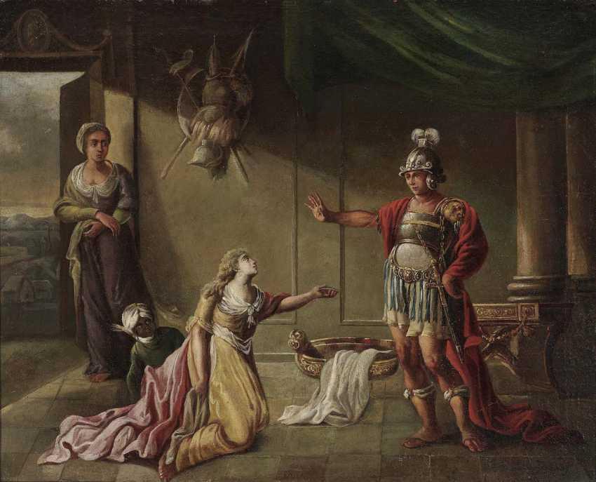 Unknown, 17. Century. Hector bidding farewell to Adromache - photo 1