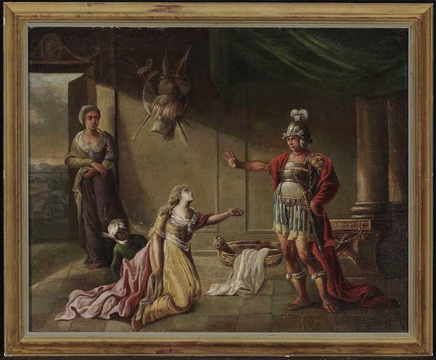 Unknown, 17. Century. Hector bidding farewell to Adromache - photo 2