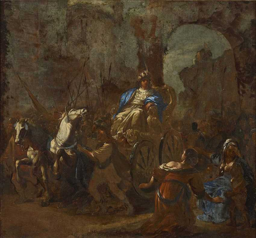 Netherlands, 17. Century. Triumphal procession of an ancient ruler - photo 1