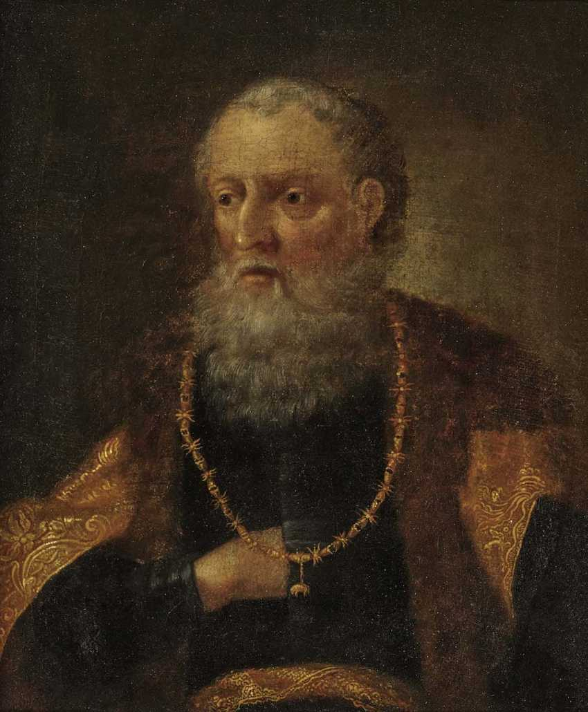 Netherlands, 17. Century. Bearded with the order of the Golden fleece - photo 1
