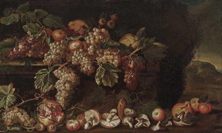 Italy, 17. Century. Still life with mushrooms and fruits - photo 1