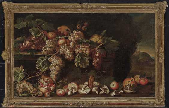 Italy, 17. Century. Still life with mushrooms and fruits - photo 2