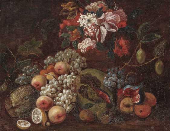Italy (Naples?), 17. century. still life with fruits and flowers - photo 1
