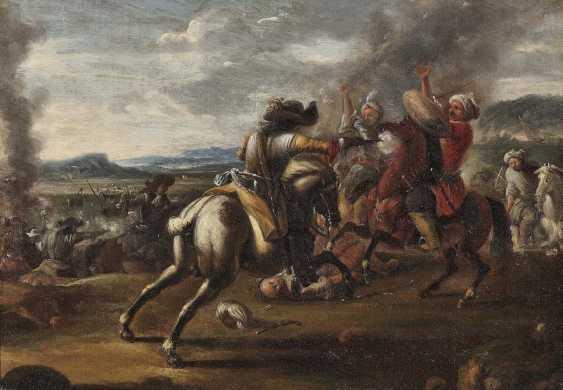 Courtois, Jacques (Le Bourguignon'), type of. Rider battle - photo 1