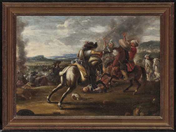 Courtois, Jacques (Le Bourguignon'), type of. Rider battle - photo 2