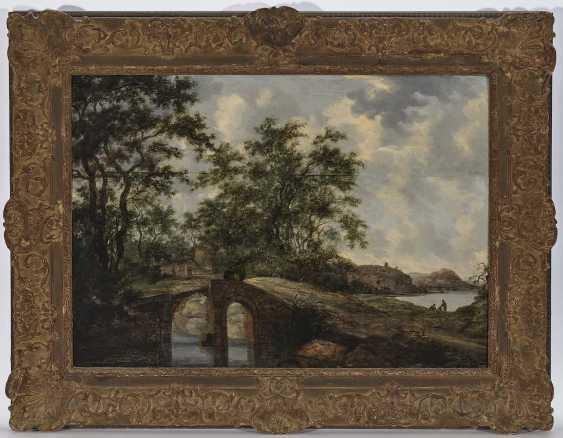 Goyen, Jan Josephsz. Van, Area. Landscape with bridge and figure staffage - photo 2