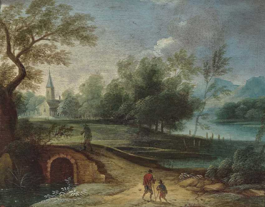The Netherlands. Landscapes with figure staffage - photo 1