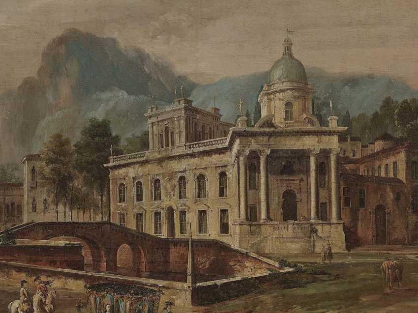 Battaglioli, Francesco. Architectural Capriccio, with figure staffage - photo 3