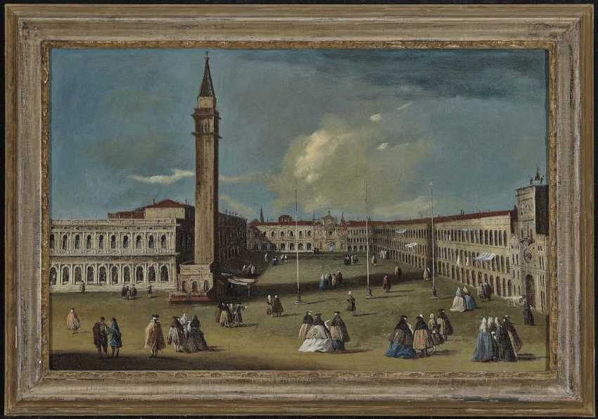 Canal, jan. Canaletto, Giovanni Antonio, Umkreis. Venedig, Piazza San Marco - photo 2