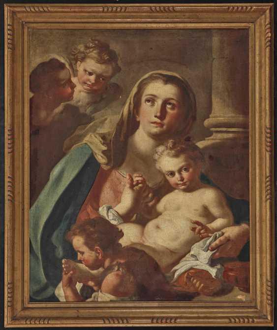 Mura, Francesco de, attributed . Maria with the child and Saint John - photo 2