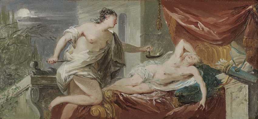 France, Mid-18th. Century. Cupid and Psyche - photo 2