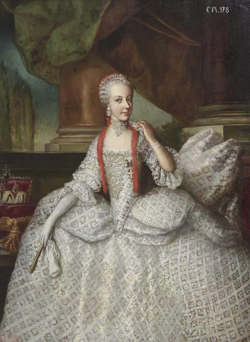 Auerbach, Johann Karl (Carl). Maria Elisabeth Josepha, Archduchess of Austria - photo 1
