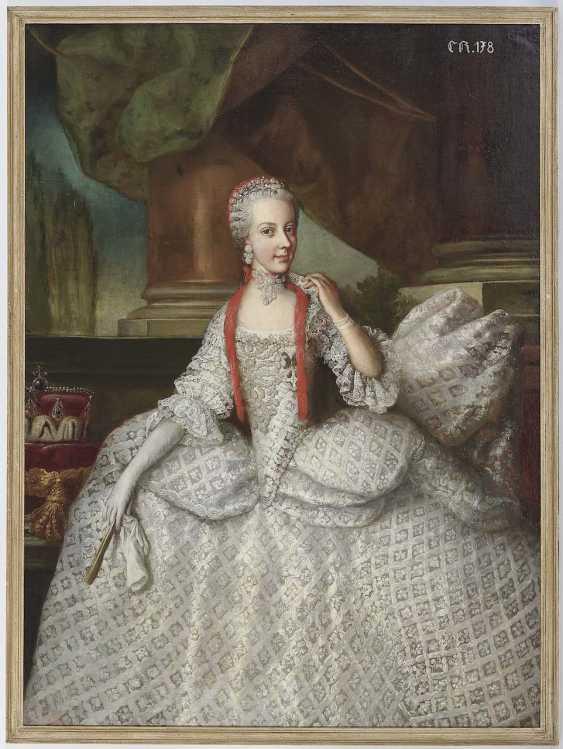 Auerbach, Johann Karl (Carl). Maria Elisabeth Josepha, Archduchess of Austria - photo 2
