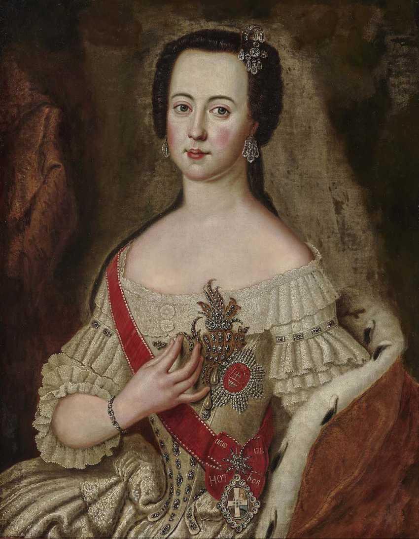 Pesne, Antoine, Succession. Empress Catherine II Alexeevna (Catherine the Great) - photo 1
