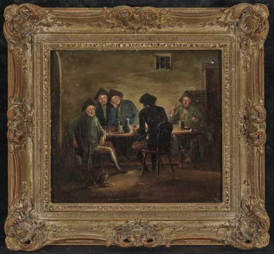 Herrlein, Johann Andreas, kind of. Zechende farmers, card players in tavern - photo 3