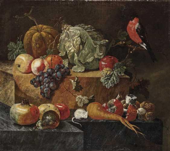 Winck (Wink), Johann Amandus. Still life with birds and white mice - photo 2
