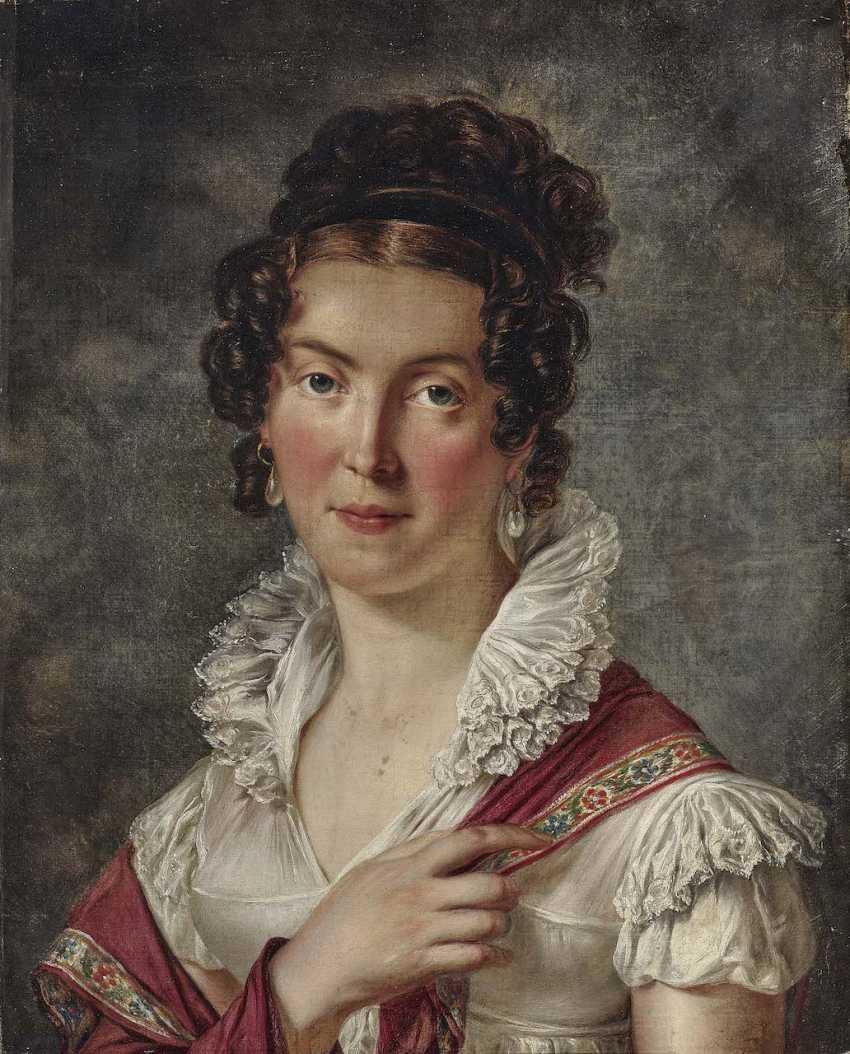 South German, Early 19th Century. Century. Ladies portrait - photo 1