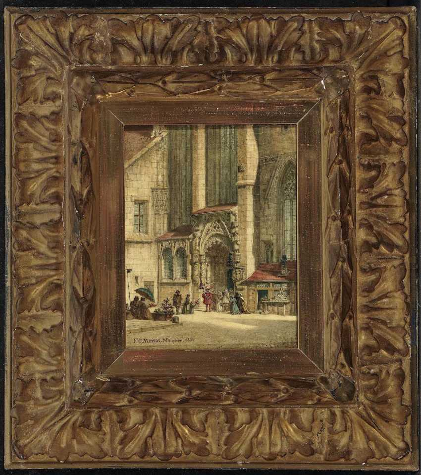 Mayer, Friedrich Carl. The Brautthüre at the St. sebaldus Church in Nuremberg - photo 2
