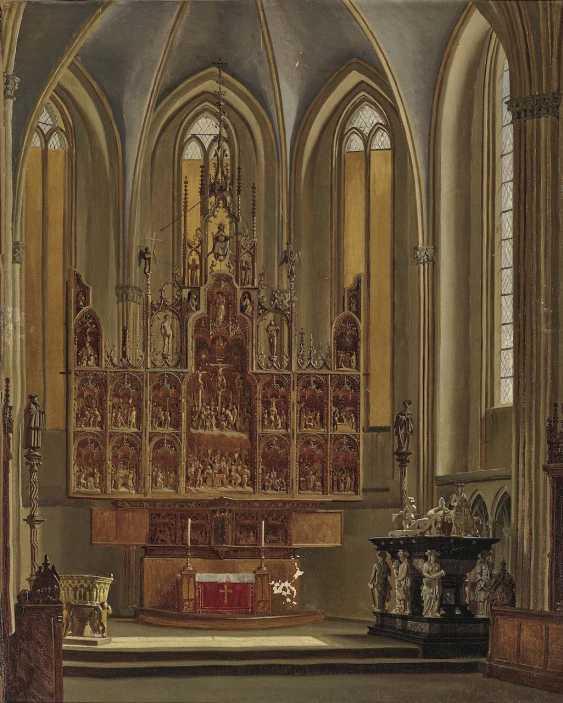 Heger, Heinrich Anton, attributed to. The Brüggemann Altar in Schleswig Cathedral - photo 1