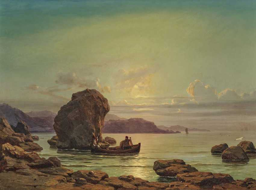 Schmidt, Max. Fishermen off the coast of - photo 1