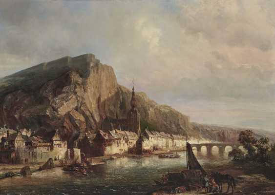 Tetar van Elven, Pierre Henri Théodore. Ansicht von Dinant - photo 1