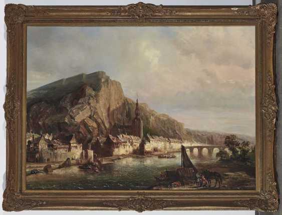 Tetar van Elven, Pierre Henri Théodore. Ansicht von Dinant - photo 2