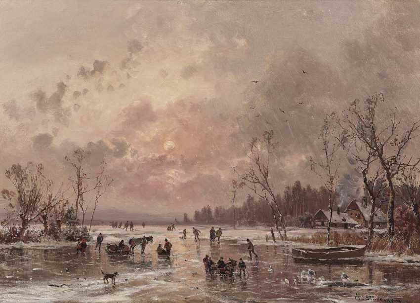 Stade Man, Adolf. Winter Eisvergnügen - photo 1