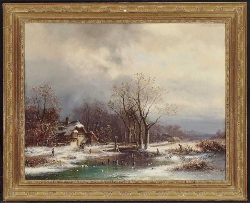 Doll, Anton. Great rural winter landscape - photo 2