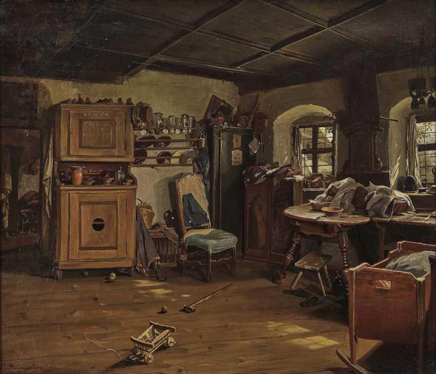 Baumgartner, Peter. Interior of a farmhouse parlour - photo 1
