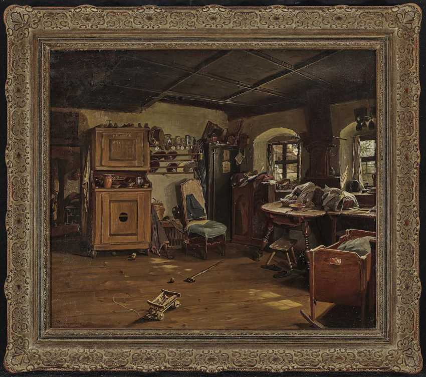 Baumgartner, Peter. Interior of a farmhouse parlour - photo 2